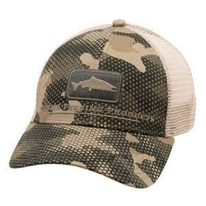 Icon Trucker Hex Flo Camo Timber кепка Simms