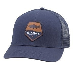 Trout Patch Trucker Admiral Blue кепка Simms