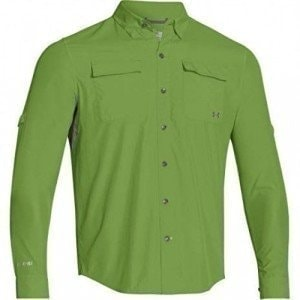 Iso-Chill Flats Guide Shirt - UPF 30+  M рубашка Under Armour