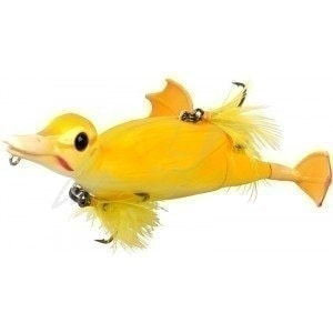 3D Suicide Duck 150F 150mm 70g #02 Yellow воблер Savage Gear