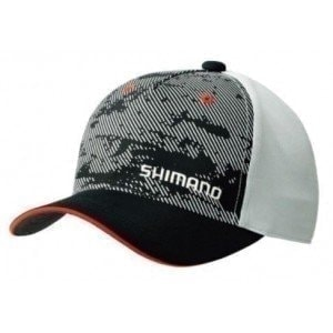 CA-041MGR Basic Cap Red кепка Shimano