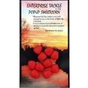 Pop Up Sweetcorn Red Strawberry Flavour насадка Enterprise Tackle