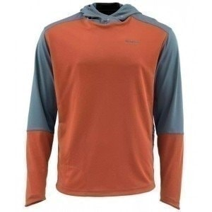 Solarflex Sport Hoody Orange XL худи Simms