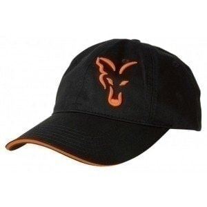 Black/Orange Baseball Cap кепка Fox