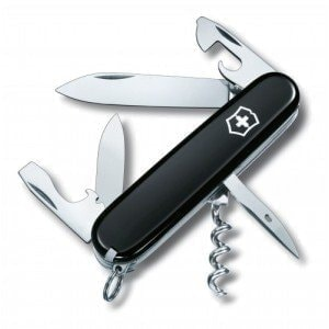 Swiss Army Spartan Black нож Victorinox