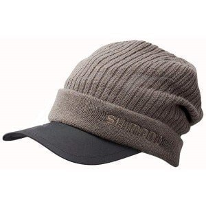 Breath Hyper +C Knit Cap 18 Charcoal шапка Shimano