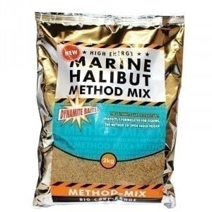 Marine Halibut Method Mix 2kg прикормка Dynamite Baits
