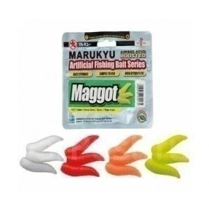 Maggot Orange Glow насадка Marukyu