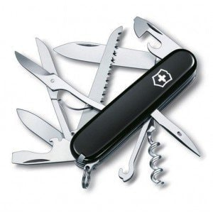 Swiss Army Huntsman Black нож Victorinox
