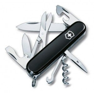 Swiss Army Climber Black нож Victorinox