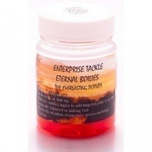 Eternal Boilies In Liquid - Mixed Fluoro Red/Strawberry & Aniseed наживка Enterprise Tackle