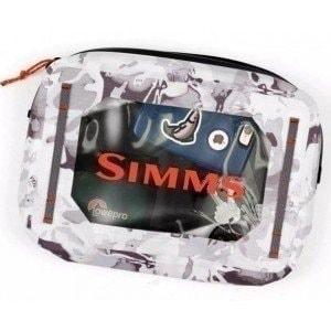 Dry Creek Gear Pouch Cloud Camo Grey 4L сумка Simms
