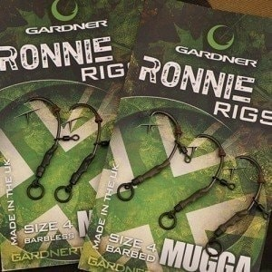 Ronnie Rigs Size 6 Barbed монтаж Gardner