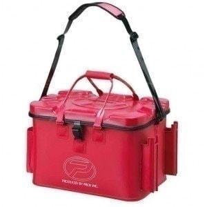 EVA Tackle Bag With Rod Holder Red 44л сумка Prox