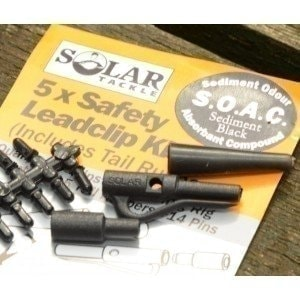 Safety Leadclip Kit Lakebed Brown клипса Solar