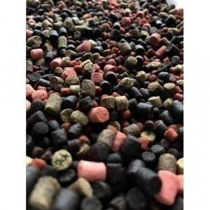 Start Pellets MIX 2kg 6-10мм (тёплая вода) пеллетс Texnokarp