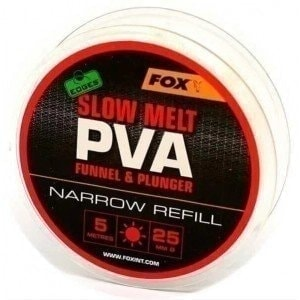 Edges 5m Refill Slow Melt 25mm Narrow ПВА сетка медленно растворимая Fox